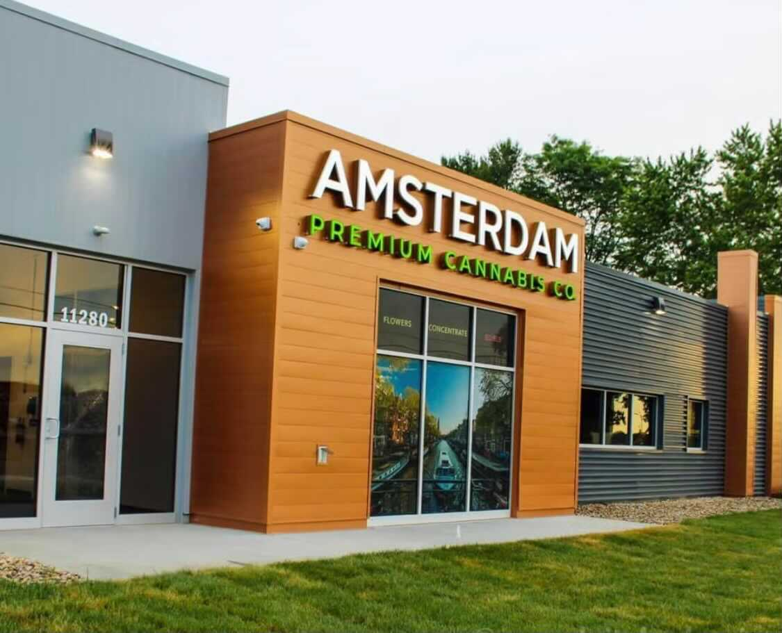 Amsterdam BC Premium Cannabis storefront